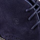 Chaussures derbies montantes marines cuir retourné Esprit Homme PIERRE CARDIN marque pas cher prix dégriffés destockage