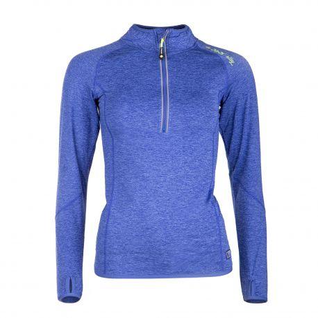 Tee shirt ski respirant polarshell fibrotec Prisca Femme NORTH VALLEY marque pas cher prix dégriffés destockage