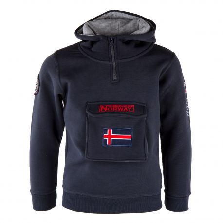 SWEAT G355 NAVY/RED