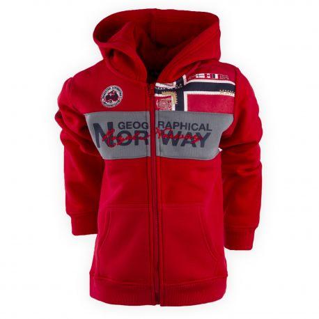 SWEAT G335 RED/NAVY