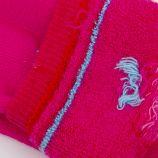 Chaussettes hautes bouclettes coeur coton & élasthanne Bébé AZERTEX marque pas cher prix dégriffés destockage