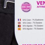 Culotte noire dentelle Femme AZERTEX marque pas cher prix dégriffés destockage