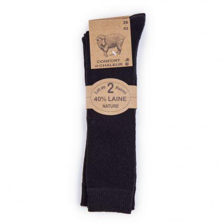 Mibas x2 laine elasthanne f50195 AZERTEX marque pas cher prix dégriffés destockage
