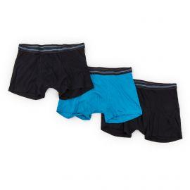 Lot de 3 boxers unis coton homme AZERTEX