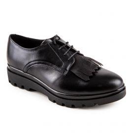 Derby 8673 noir cuir MIDREIA marque pas cher prix dégriffés destockage