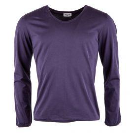 Tee shirt basique en coton manches longues homme AMERICAN VINTAGE marque pas cher prix dégriffés destockage