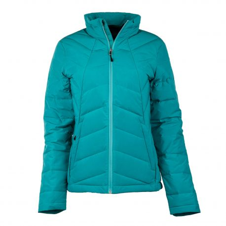 Doudoune bleu turquoise femme SPYDER marque pas cher prix dégriffés destockage
