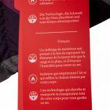 Doudoune ski imprimée multicolore femme SPYDER marque pas cher prix dégriffés destockage