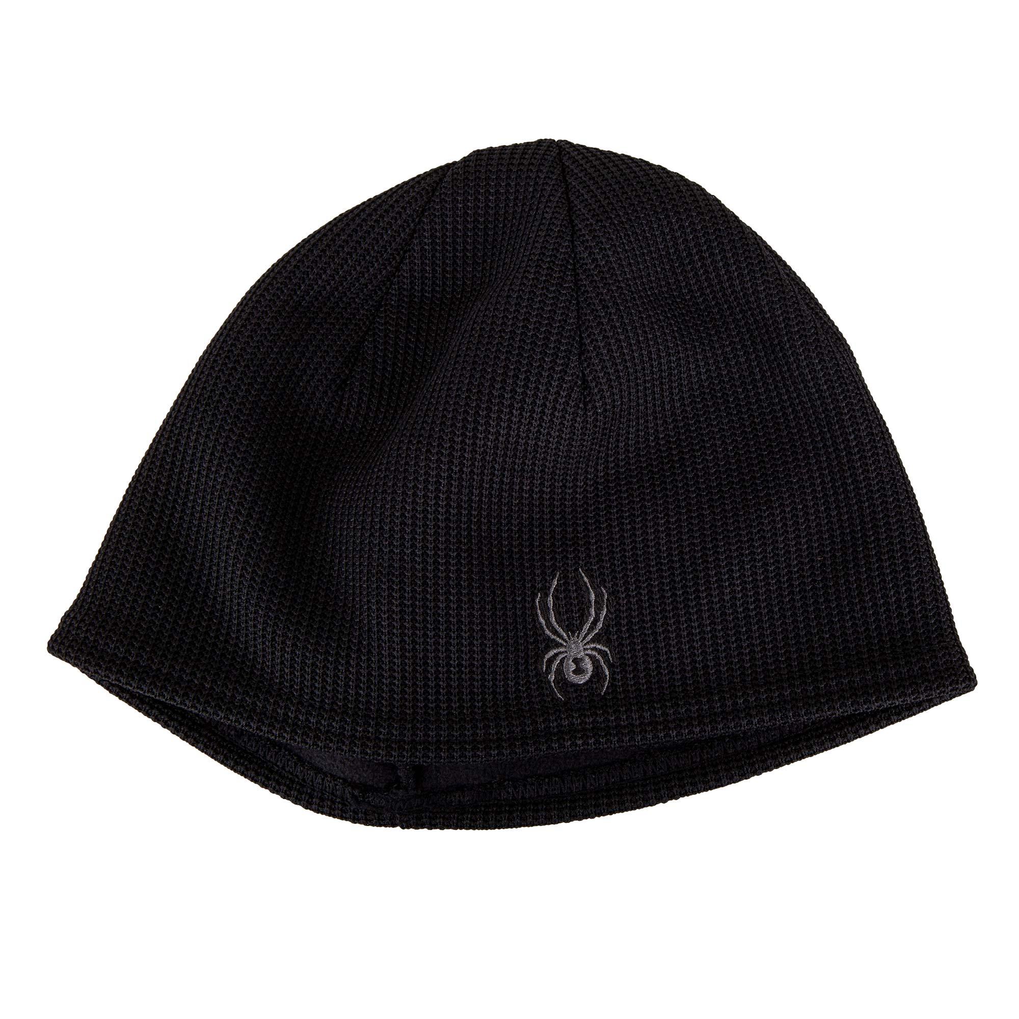 3bcbe37750084 ... Bonnet noir pour homme SPYDER. Passez l'hiver bien au chaud avec ce  bonnet et son intérieur en polaire. Bonnet homme 25605 16.99 Degriffstock  in_stock
