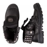 BOTTINE 93262-001-M/CUIR BLACK