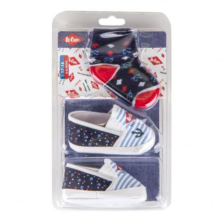 ENS CHAUSSURE+CHAUSSETTE LC0830