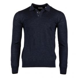 Pull manches longues col polo homme TIMBERLAND marque pas cher prix dégriffés destockage