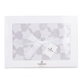 COFFRET PLAID TOR00003GR 130X160 GRIS