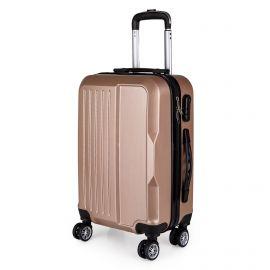 Petite valise man-cab6 black/champagne MANOUKIAN marque pas cher prix dégriffés destockage
