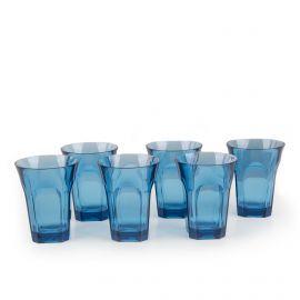 Verre a eau (lot de 6) bleu guzzini GUZZINI marque pas cher prix dégriffés destockage
