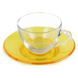 Tasse + sous tasse guzzini GUZZINI marque pas cher prix dégriffés destockage