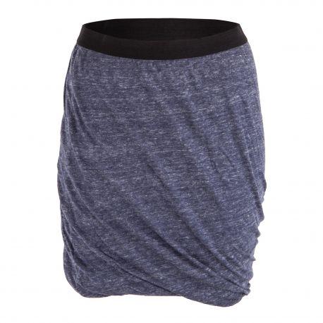 Jupe courte drapée femme Hot Springs AMERICAN VINTAGE marque pas cher prix dégriffés destockage
