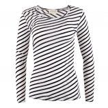 Tee shirt rayé femme AMERICAN VINTAGE marque pas cher prix dégriffés destockage