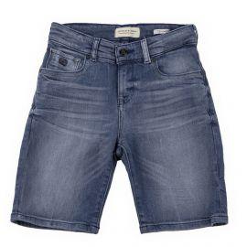 Bermuda en jean enfant Strummer SCOTCH & SODA marque pas cher prix dégriffés destockage
