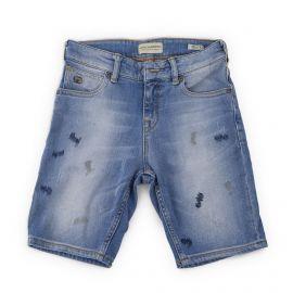 Bermuda bleu délavé en jean enfant Mercer SCOTCH & SODA