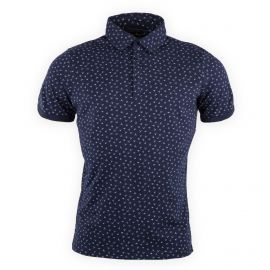 Tee shirt manches courtes style polo homme BEST MOUNTAIN