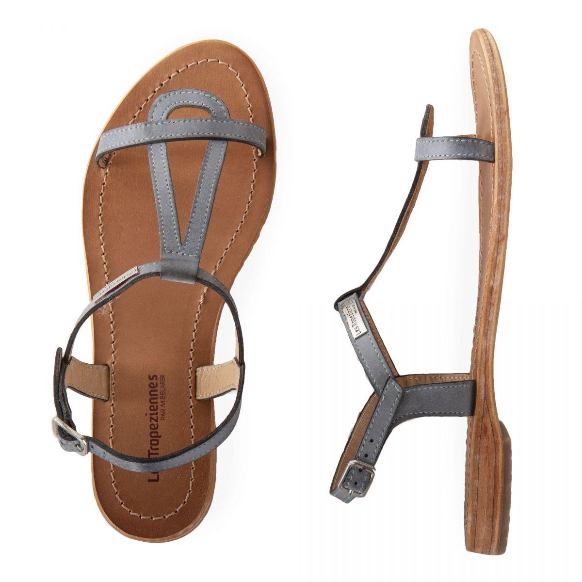 sandales plates hamess femme les tropeziennes par m. Black Bedroom Furniture Sets. Home Design Ideas