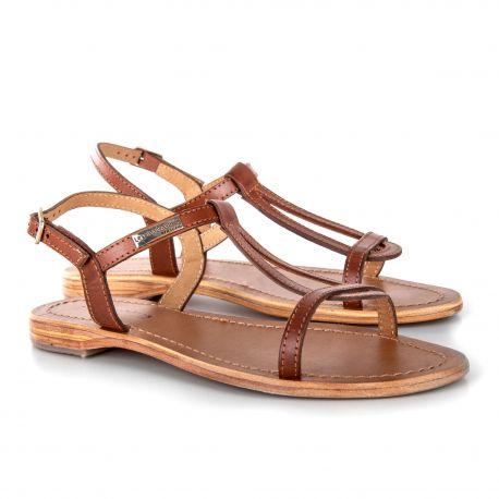 Sandales plates HAMESS Femme LES TROPEZIENNES PAR M.BELARBI marque pas cher prix dégriffés destockage