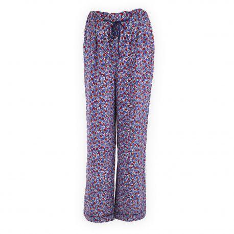 outlet store sale on feet shots of finest selection Pantalon large fluide fleuri femme TOMMY HILFIGER