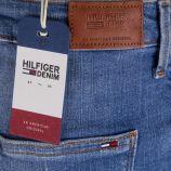 Jupe en jean bleu destroy femme TOMMY HILFIGER marque pas cher prix dégriffés destockage