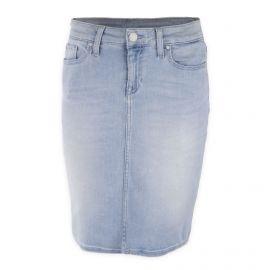 Jupe en jean bleu clair femme TOMMY HILFIGER