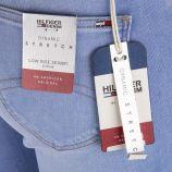 Jean skinny bleu clair taille basse femme TOMMY HILFIGER marque pas cher prix dégriffés destockage