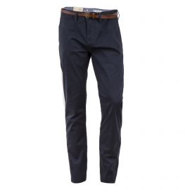 Pantalon noir en toile regular homme Travis TOM TAILOR