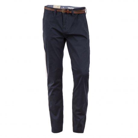 Pantalon noir en toile regular homme Travis TOM TAILOR marque pas cher prix dégriffés destockage