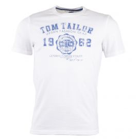 Tee shirt col rond manches courtes homme TOM TAILOR