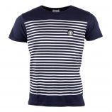 Tee shirt à rayures Homme Ray PARAGOOSE marque pas cher prix dégriffés destockage