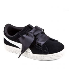 Baskets suede Heart Jewel PS noir enfant PUMA