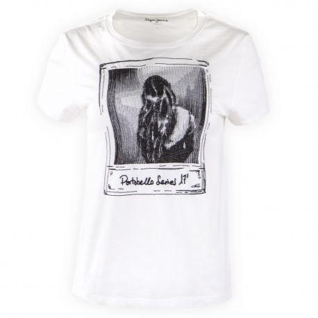 T-shirt mc PEPE JEANS marque pas cher prix dégriffés destockage