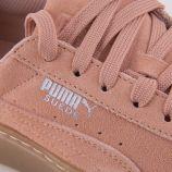 Basket cuir peach beige PUMA
