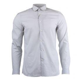 Chemise à carreaux gris clair Homme CALVIN KLEIN