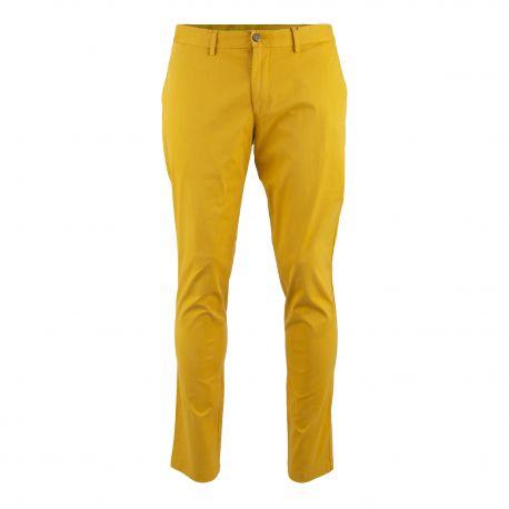 meilleur prix pour sur des pieds à produits de qualité Pantalon chino slim fit moutarde Homme TOMMY HILFIGER