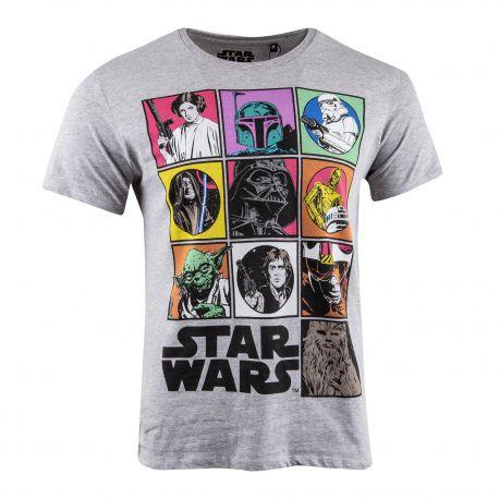 Tee shirt Star Wars Comics Homme MARVEL marque pas cher prix dégriffés destockage