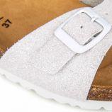 Mules b10 glitter blanc 36/41 Femme WHY LAND marque pas cher prix dégriffés destockage