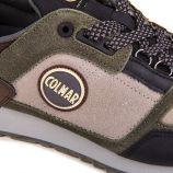 Basket gray black travis supreme 053 cuir Homme COLMAR