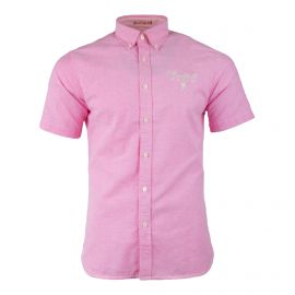 Chemise manches courtes rose Homme RUCKFIELD