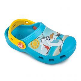 Sandales plastique Disney Frozen Enfant CROCS marque pas cher prix dégriffés destockage