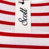 Tee shirt mariniere mc adaline/scott Femme SCOTT