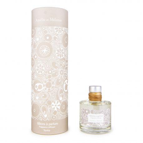 Bâtons à parfum tonka 200ml Mixte Amélie et Mélanie LOTHANTIQUE marque pas cher prix dégriffés destockage