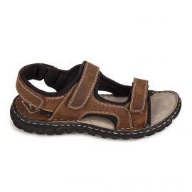 Sandale c07301laurent marron 40/45 Homme ROADSIGN marque pas cher prix dégriffés destockage