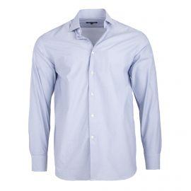 Chemise bleu clair coupe droite manches longues Homme TED LAPIDUS
