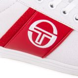 Basket stm914121 white/red Homme SERGIO TACCHINI